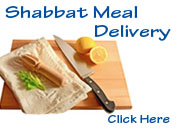 Shabbat Meal Delivery